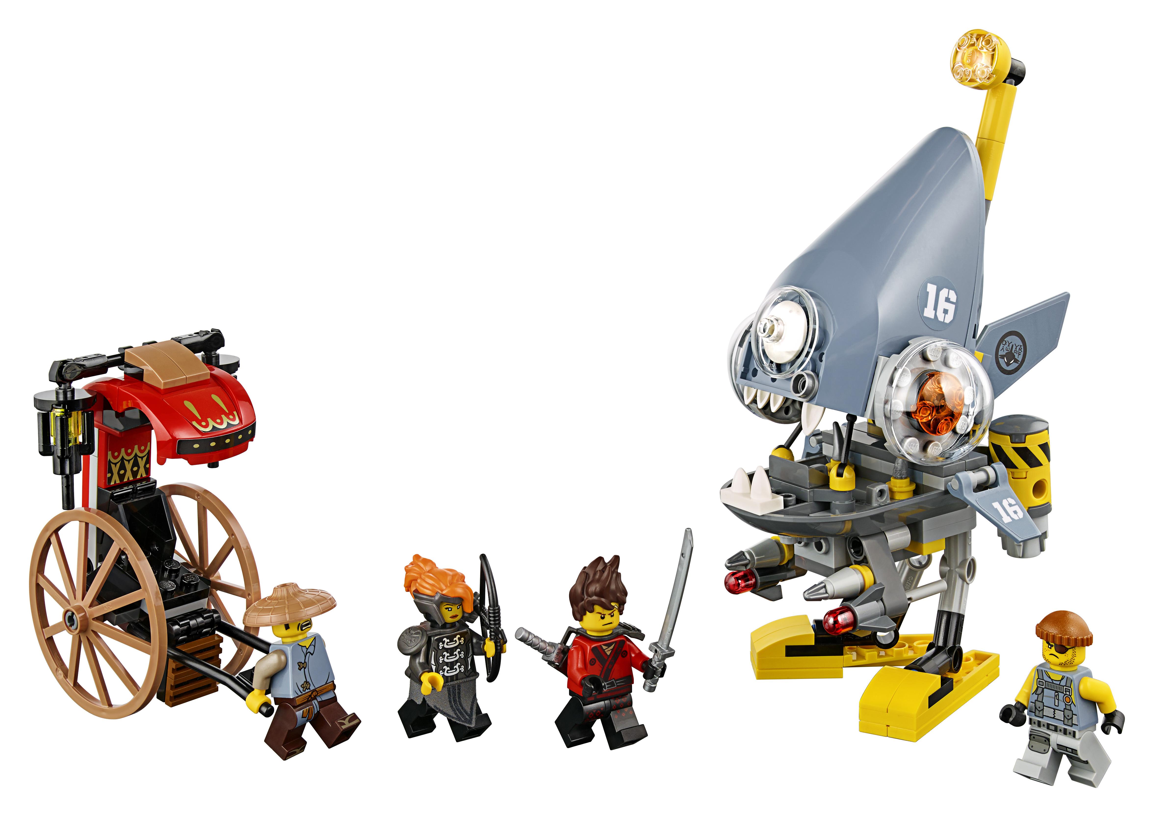 LEGO LEGO Конструктор LEGO Ninjago 70629 Нападение пираньи other 1 24 6 70g 4a sku 01 511066141