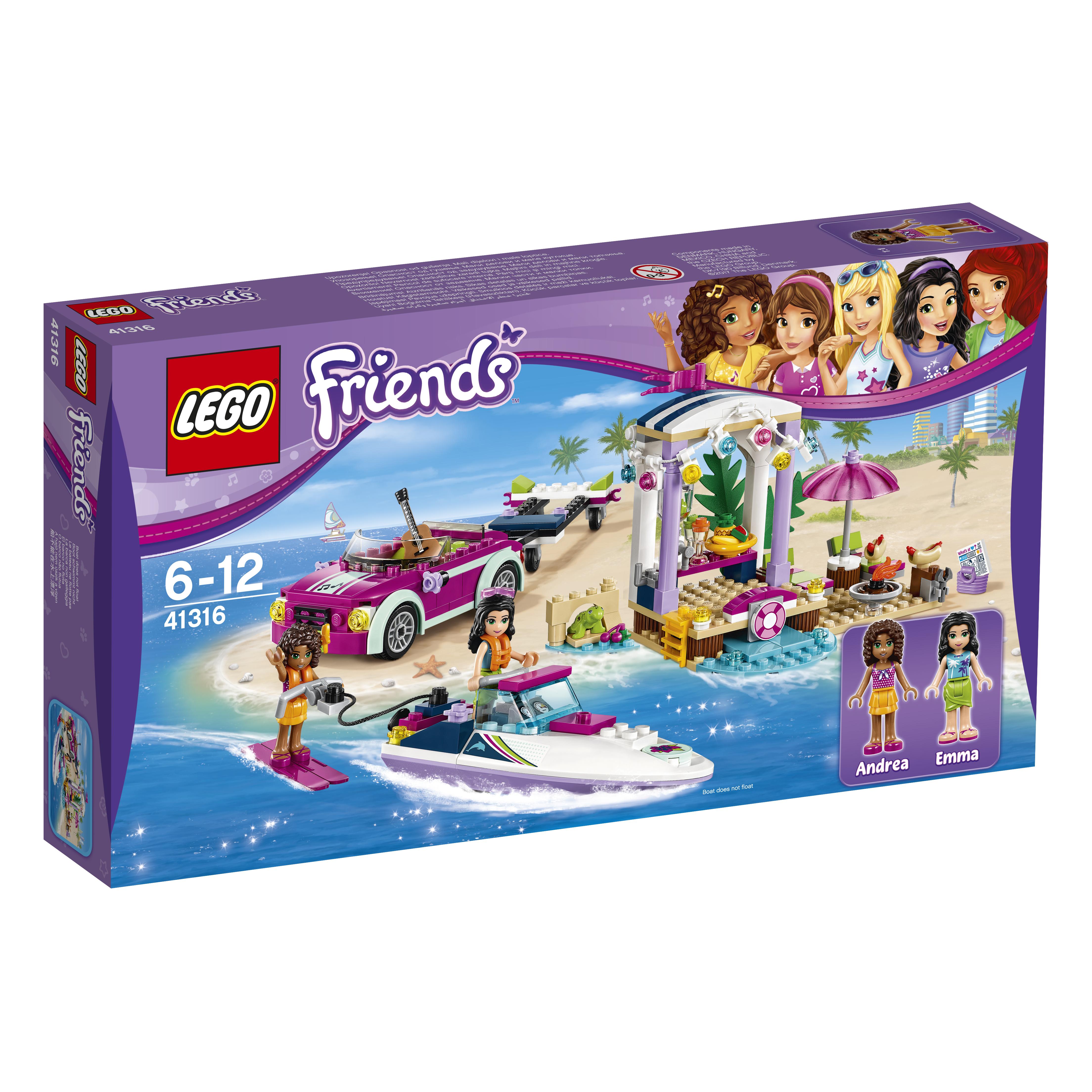 Фото - LEGO LEGO Скоростной катер Андреа lego friends скоростной катер андреа 41316