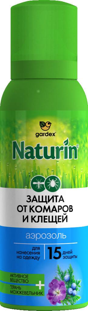 Средство от комаров Gardex 100 мл аэрозоль от комаров и клещей gardex baby на одежду 100 мл