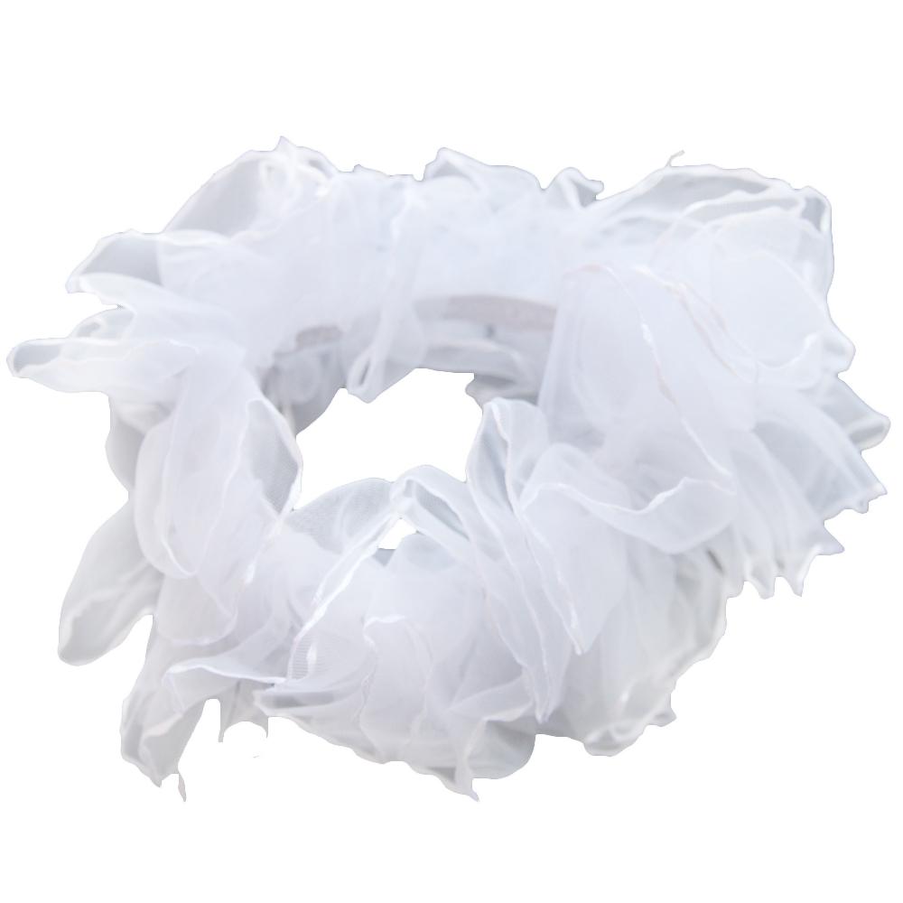 Украшения Принчипесса Резинка для волос Принчипесса «Шу-шу» белый/розовый s шу счета