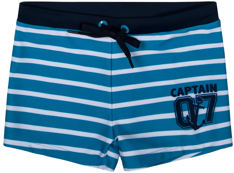 Купить Купальники и плавки, Пляж SS18 голубые с рисунком в полоску, Barkito, Китай, голубой с рисунком в полоску, Мужской