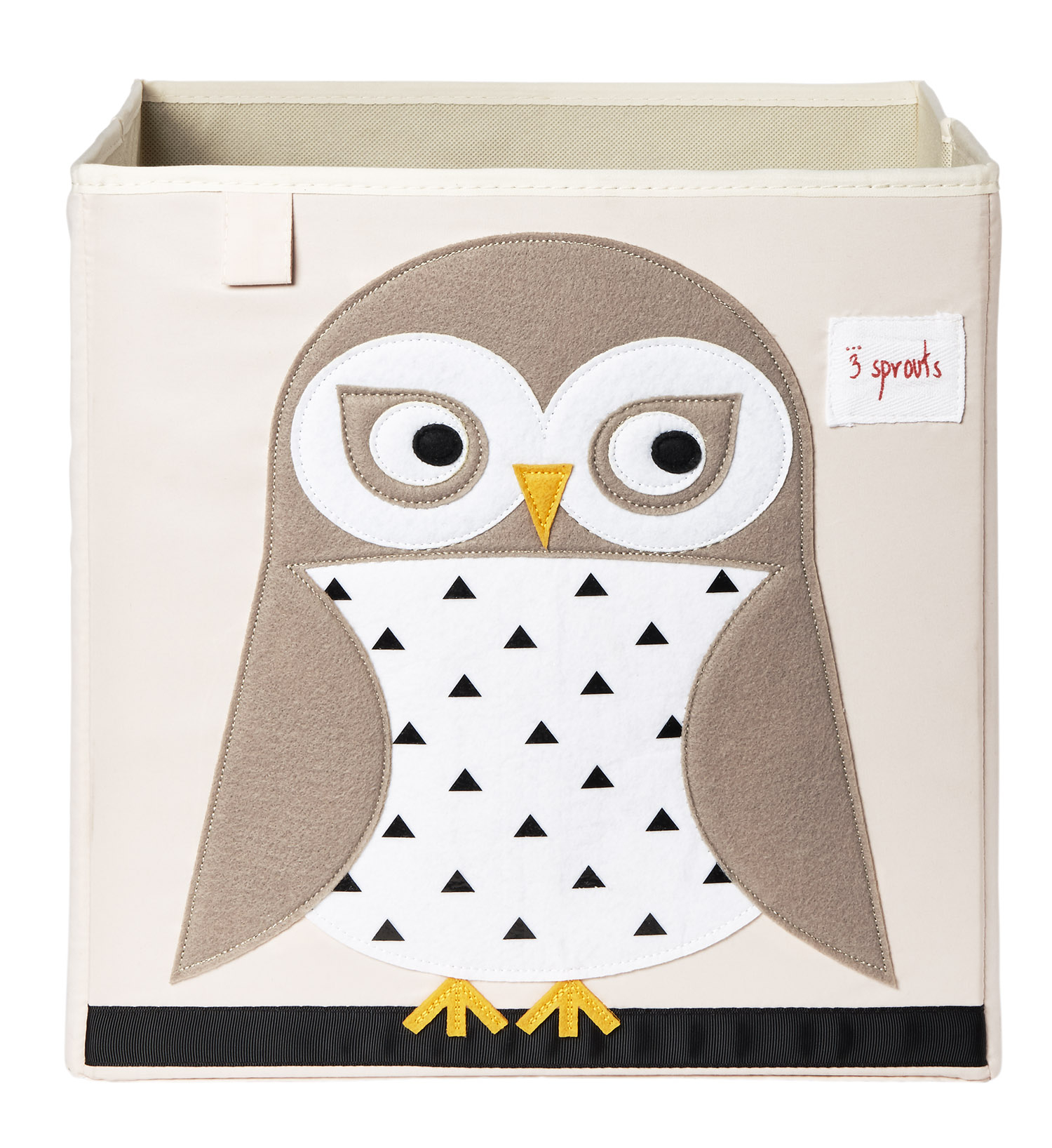 Ящики и корзины для игрушек 3 Sprouts «White Owl»