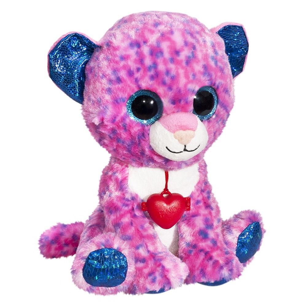 Купить Мягкие игрушки, Глазастик: Леопард 22 см, Fancy, Беларусь