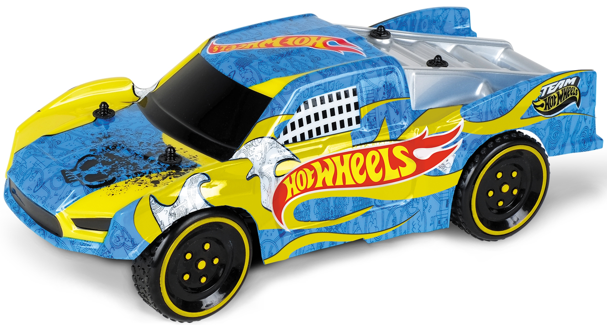 Hot Wheels Hot Wheels на радиоуправлении Hot Wheels 2 в 1 со сменным корпусом машина р у mondo hot wheels 1 16