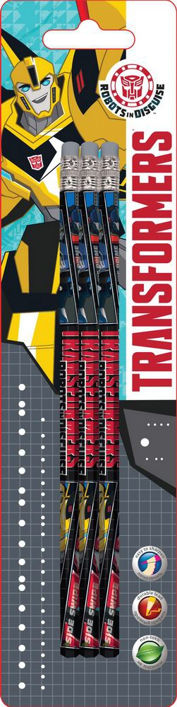 Набор карандашей Transformers Transformers 3 шт набор цветных карандашей transformers prime 12 шт