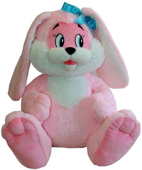 Мягкие игрушки СмолТойс Мягкая игрушка СмолТойс «Зайчик» 45 см розовая смолтойс мягкая игрушка антистресс кевин 20 см