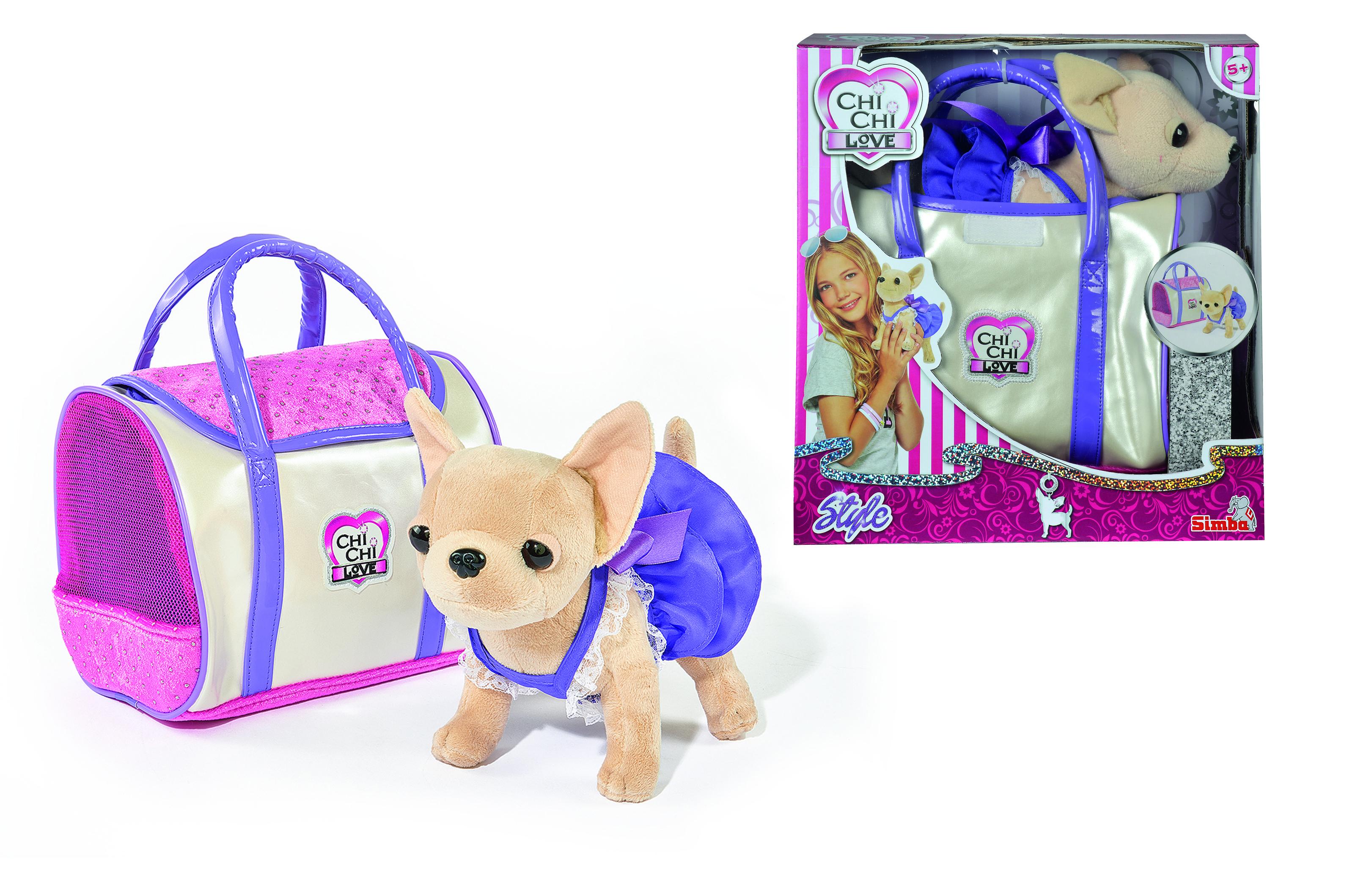 Мягкая игрушка Chi Chi Love Собачка Чихуахуа мягкие игрушки chi chi love плюшевая собачка чихуахуа в балетной пачке с розовой сумочкой 15 см