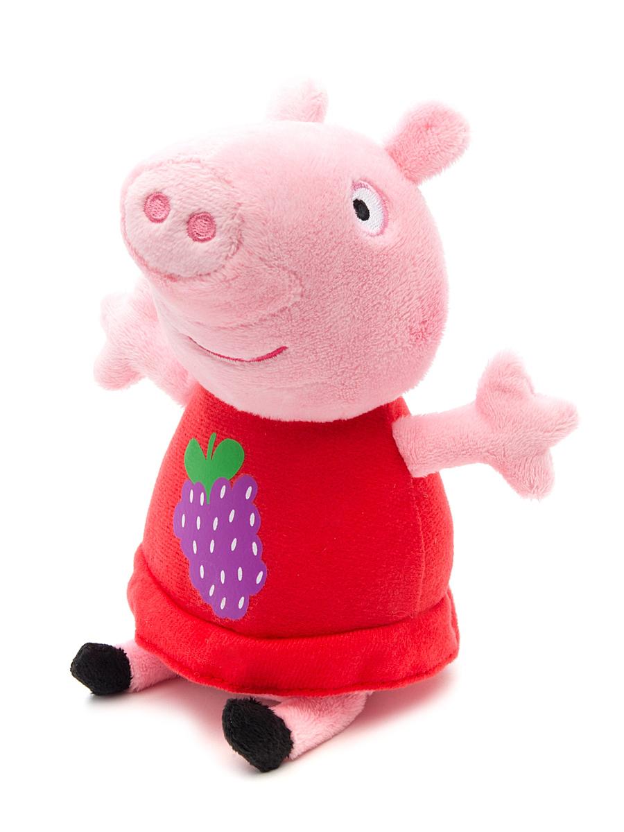 Peppa Pig Свинка Пеппа 20 см росмэн мягкая игрушка пеппа с виноградом 20 см свинка пеппа