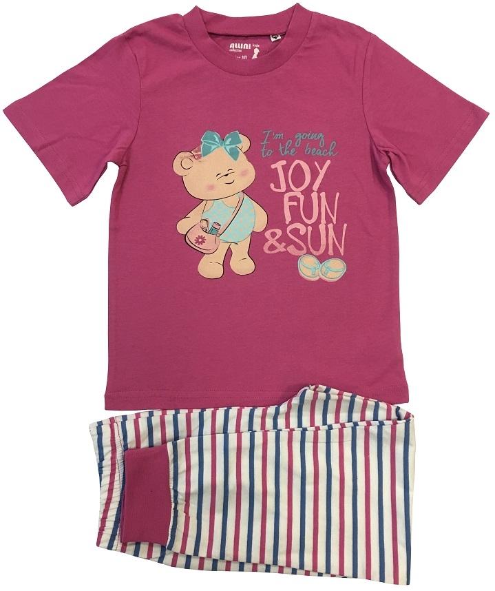 Пижама для девочки Allini 21667 пижама с шортами с рисунком
