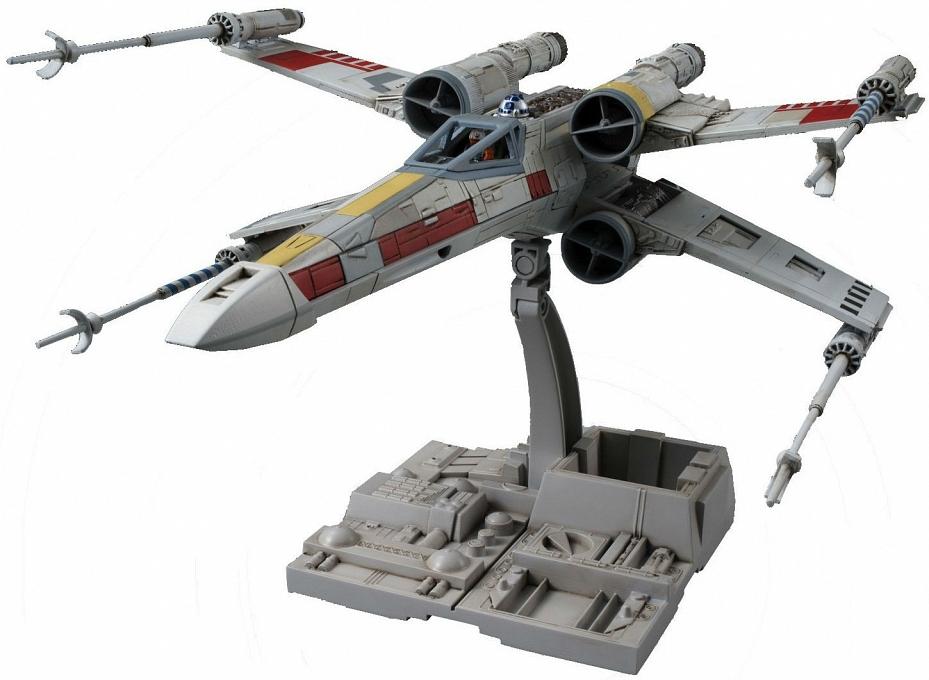 Сборная модель Bandai Истребитель Star Wars