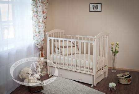 Кроватки детские Можга Ирина С625 оптика gamo