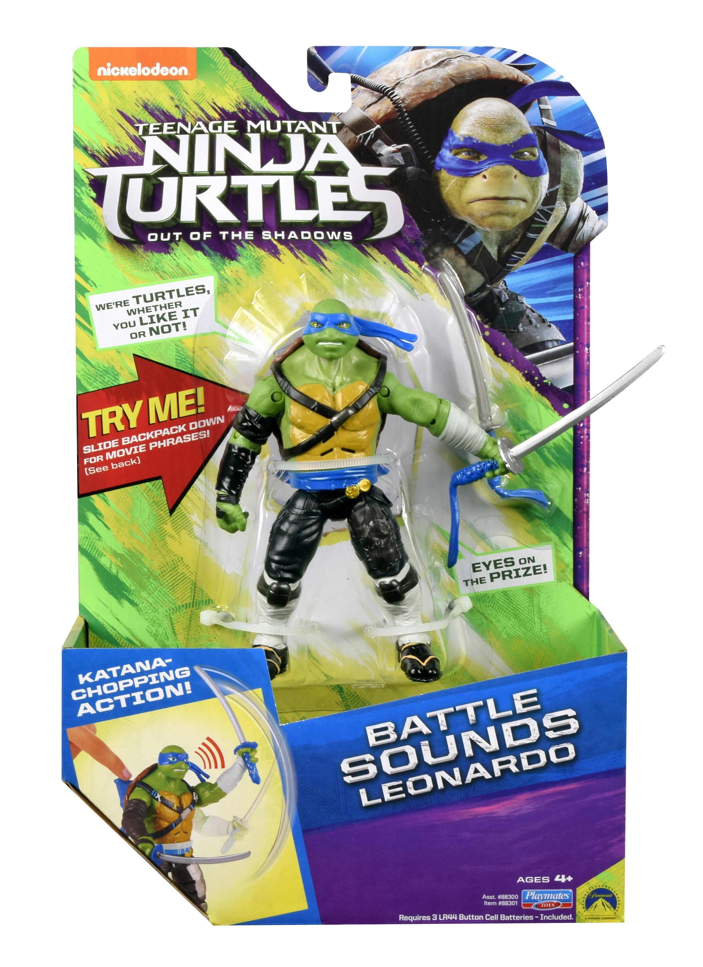 Черепашки Ниндзя Черепашки Ниндзя серия Movie Line 2016 игровые наборы turtles мотодельтаплан черепашки ниндзя без фигурки
