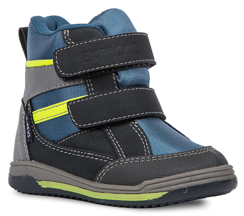 Ботинки и полуботинки Barkito Ботинки для мальчика Barkito, синие цены онлайн