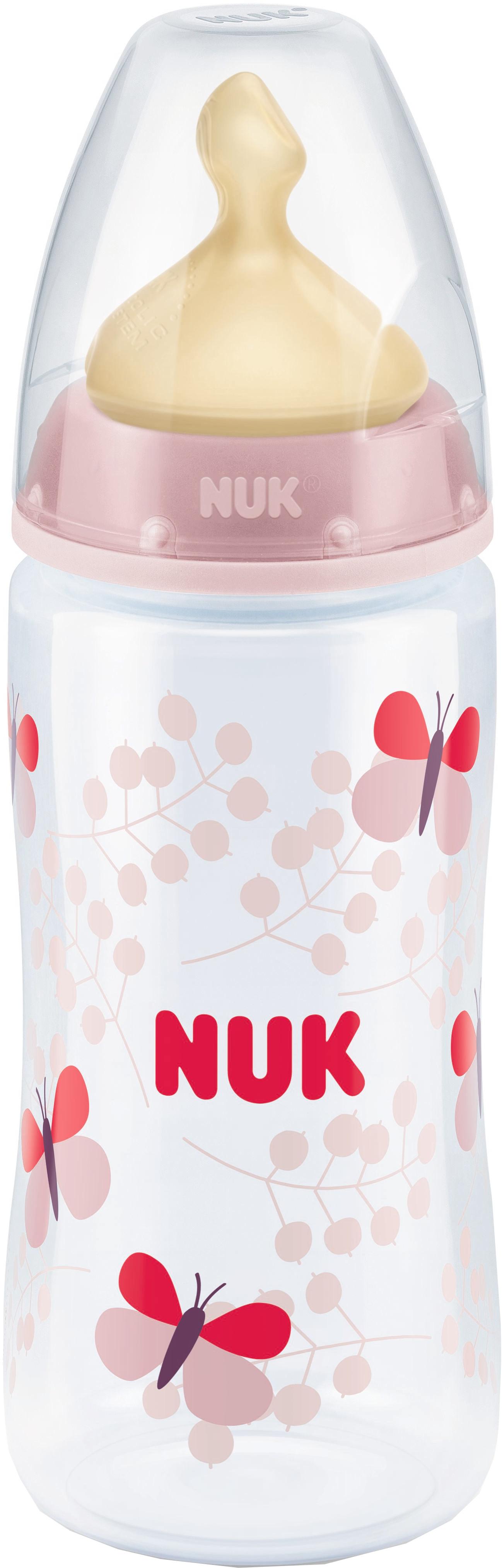 Бутылочка для кормления NUK First Choice Plus с силиконовой соской 0+, 300 мл. бутылочка для кормления nuk first choice plus с силиконовой соской м 0 150 мл в ассортименте