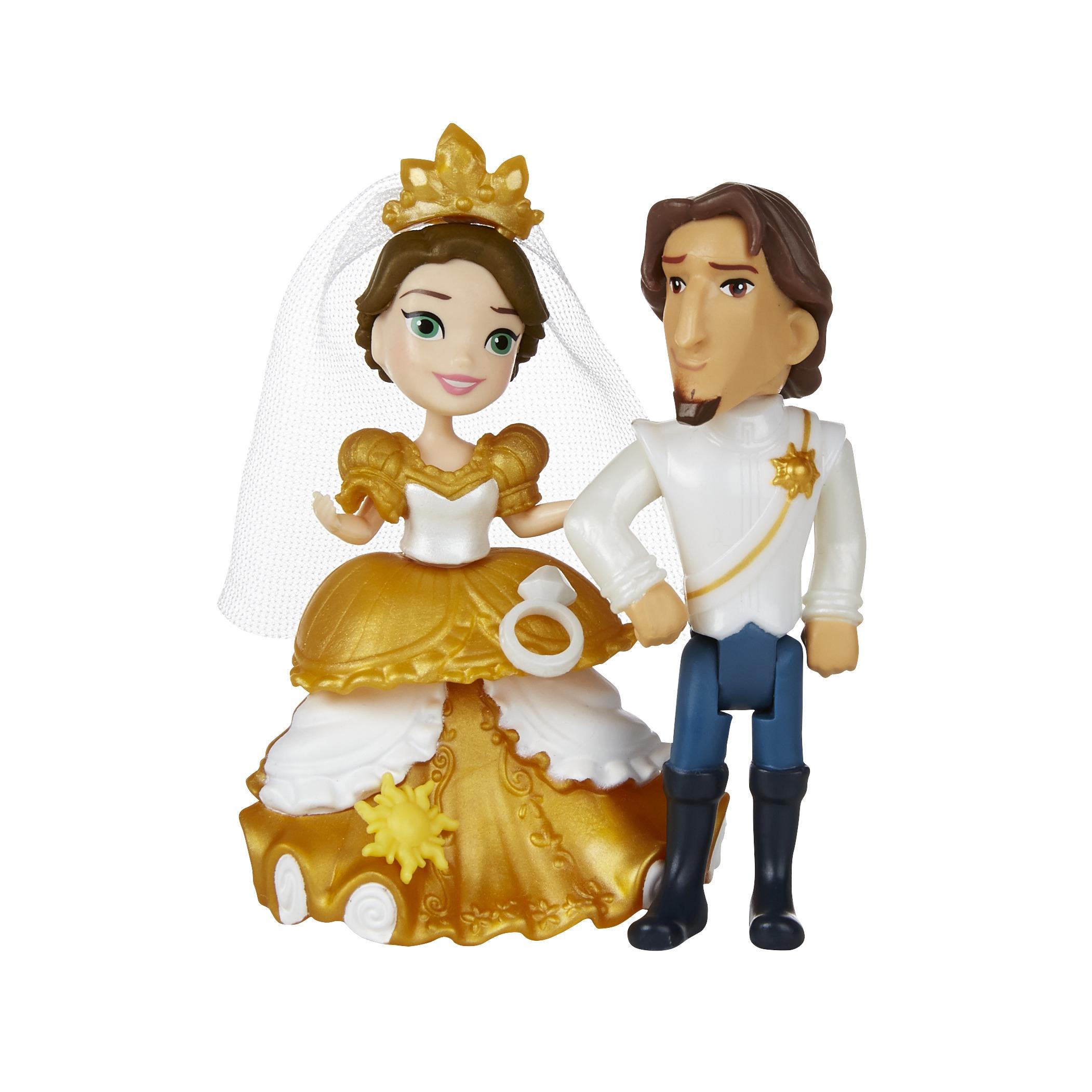 Disney Princess Disney Princess Маленькая кукла Принцесса и сцена из фильма кукла disney princess малютка принцесса в ассортименте