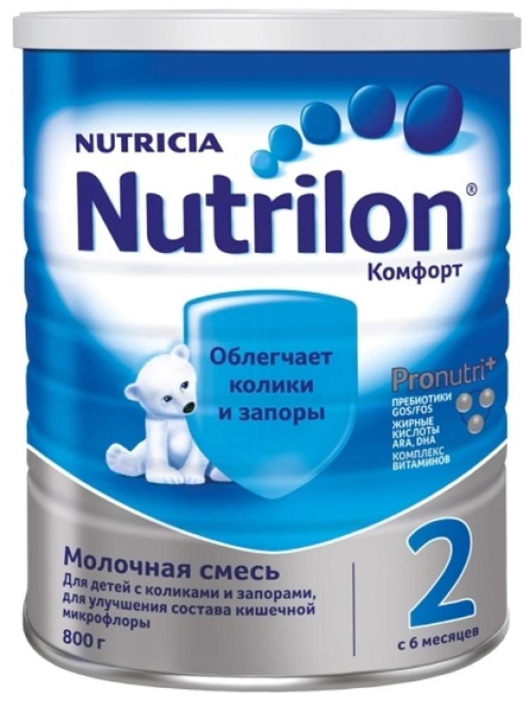 Молочная смесь Nutrilon Nutrilon (Nutricia) 2 Комфорт (c 6 месяцев) 800 г gos