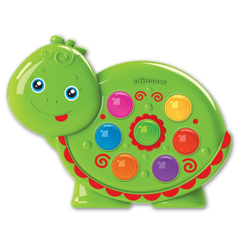 цена на Развивающая игрушка Азбукварик Веселушки. Черепашка