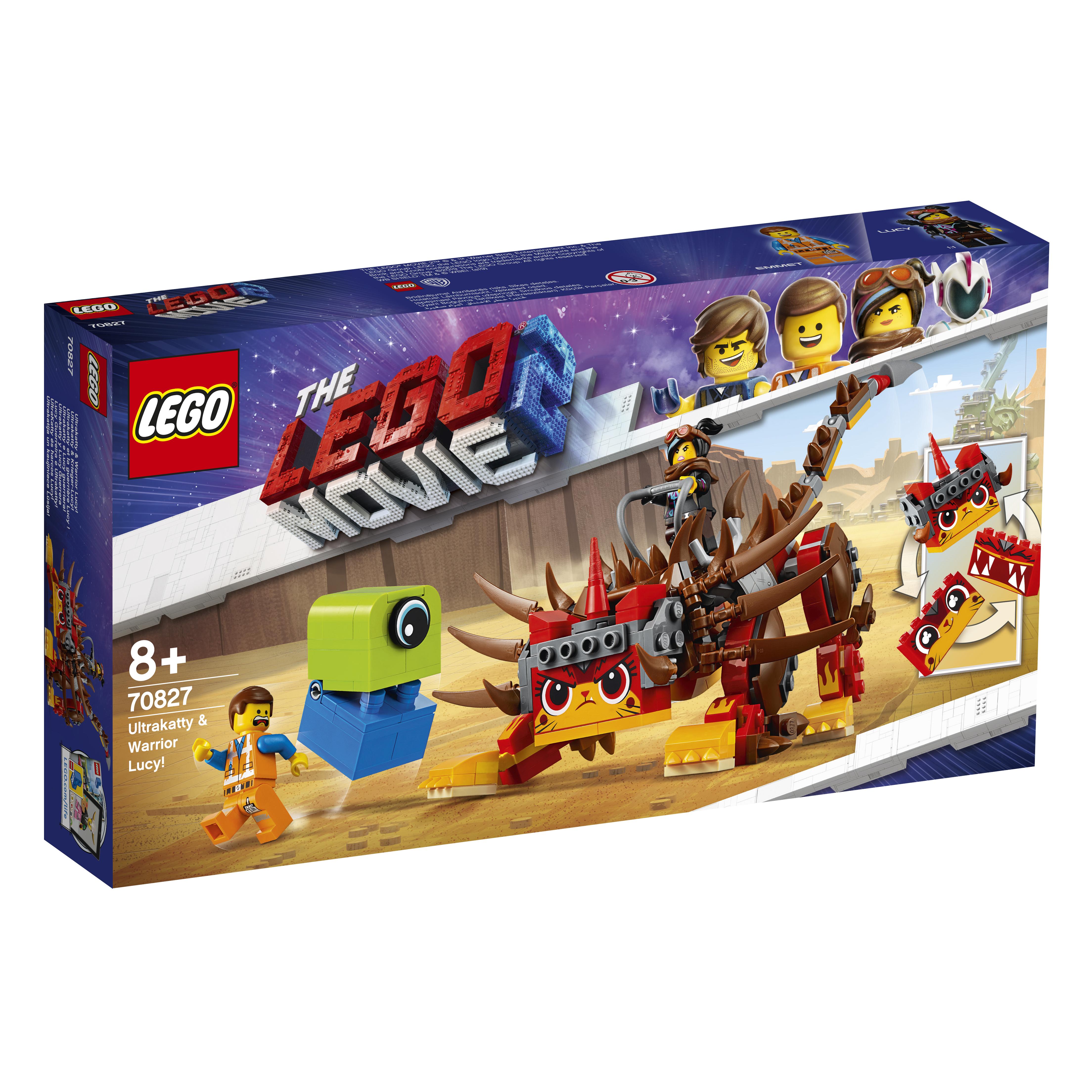 Конструктор LEGO Movie 70827 Ультра-Киса и воин Люси композиция моя киса