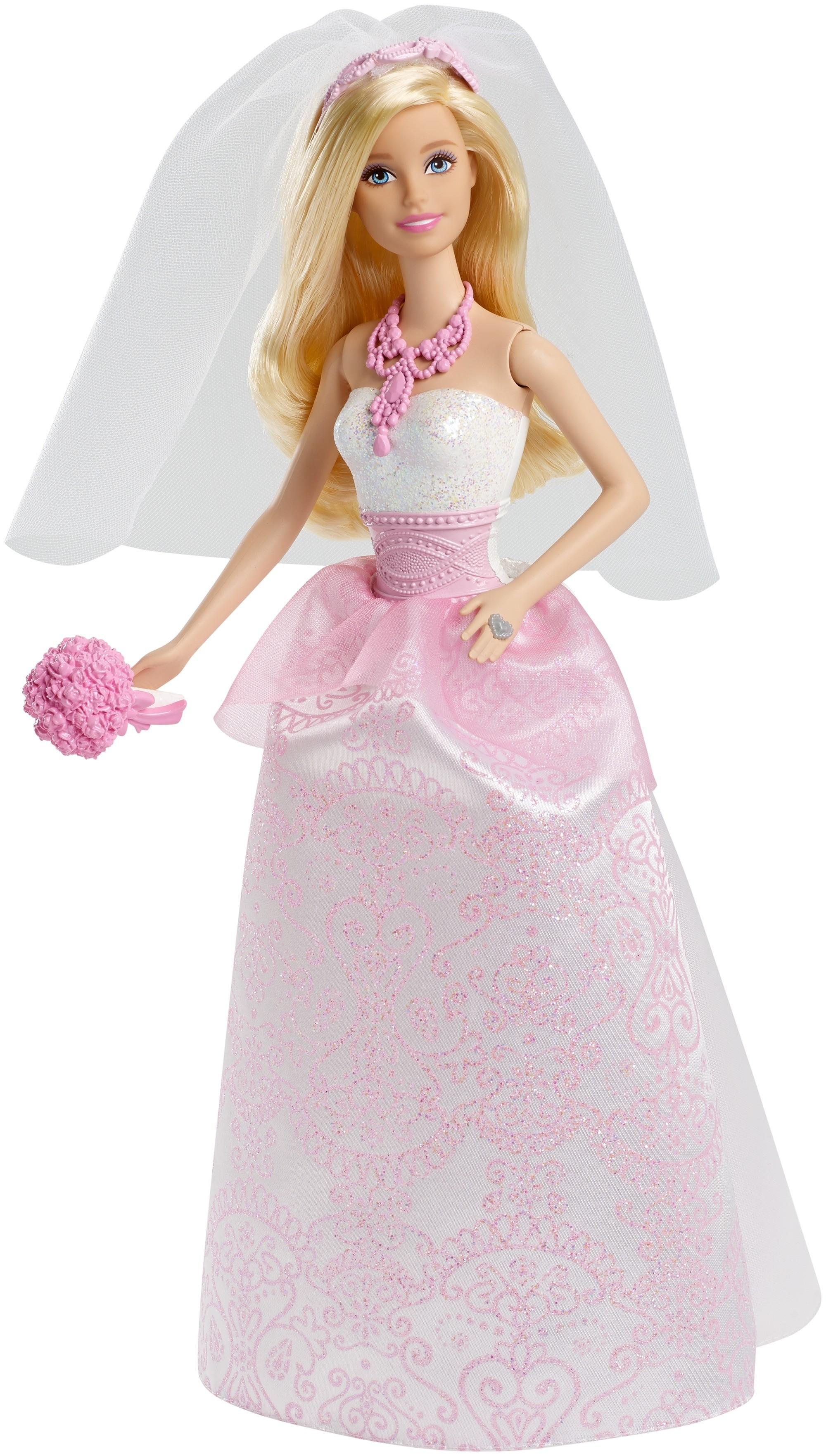 Купить Кукла Barbie, Сказочная невеста, 1шт., Barbie CFF37, Индонезия, Женский