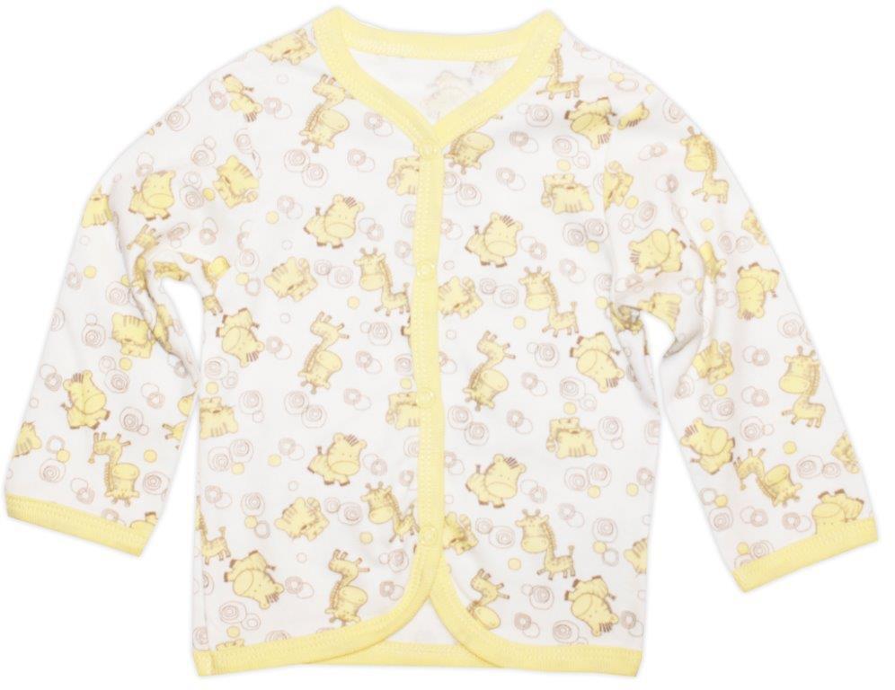 Первые вещи новорожденного Barkito Кофточка Жирафы-Сафари Barkito 2 шт.