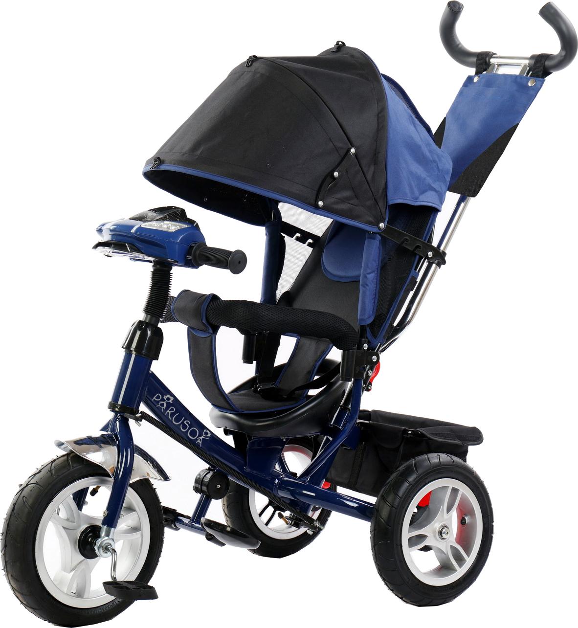 Детские трехколесные велосипеды Parusok YLT6588-B_BLUE