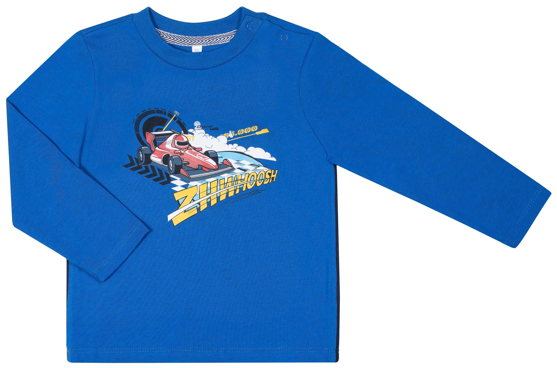Джемпер Barkito с длинным рукавом для мальчика синий джемпер с длинным рукавом barkito путешествие в лапландию