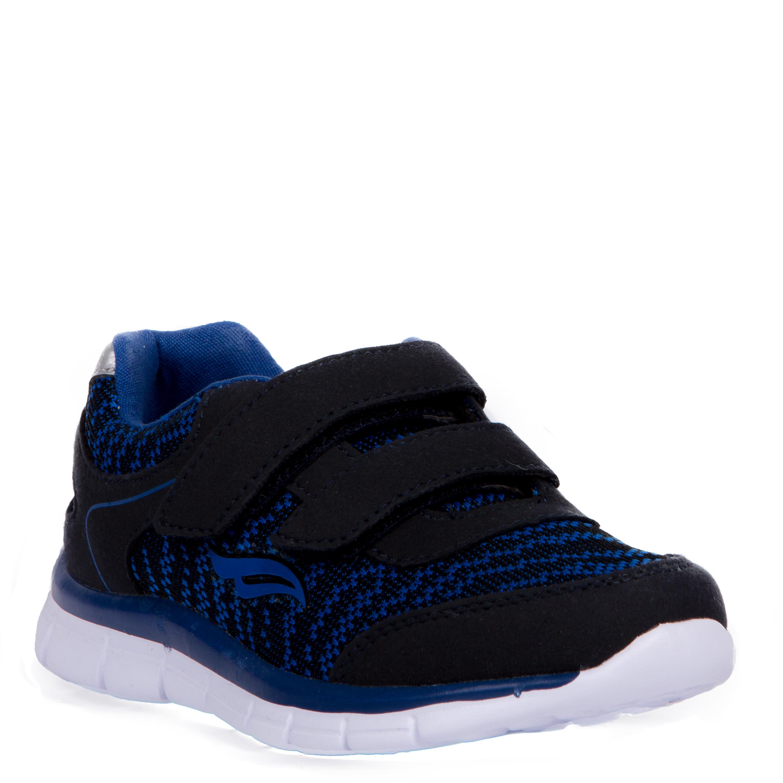 Кроссовки и кеды Barkito Полуботинки типа кроссовых для мальчика Barkito, синие полуботинки типа кроссовых для девочки barkito светло розовый