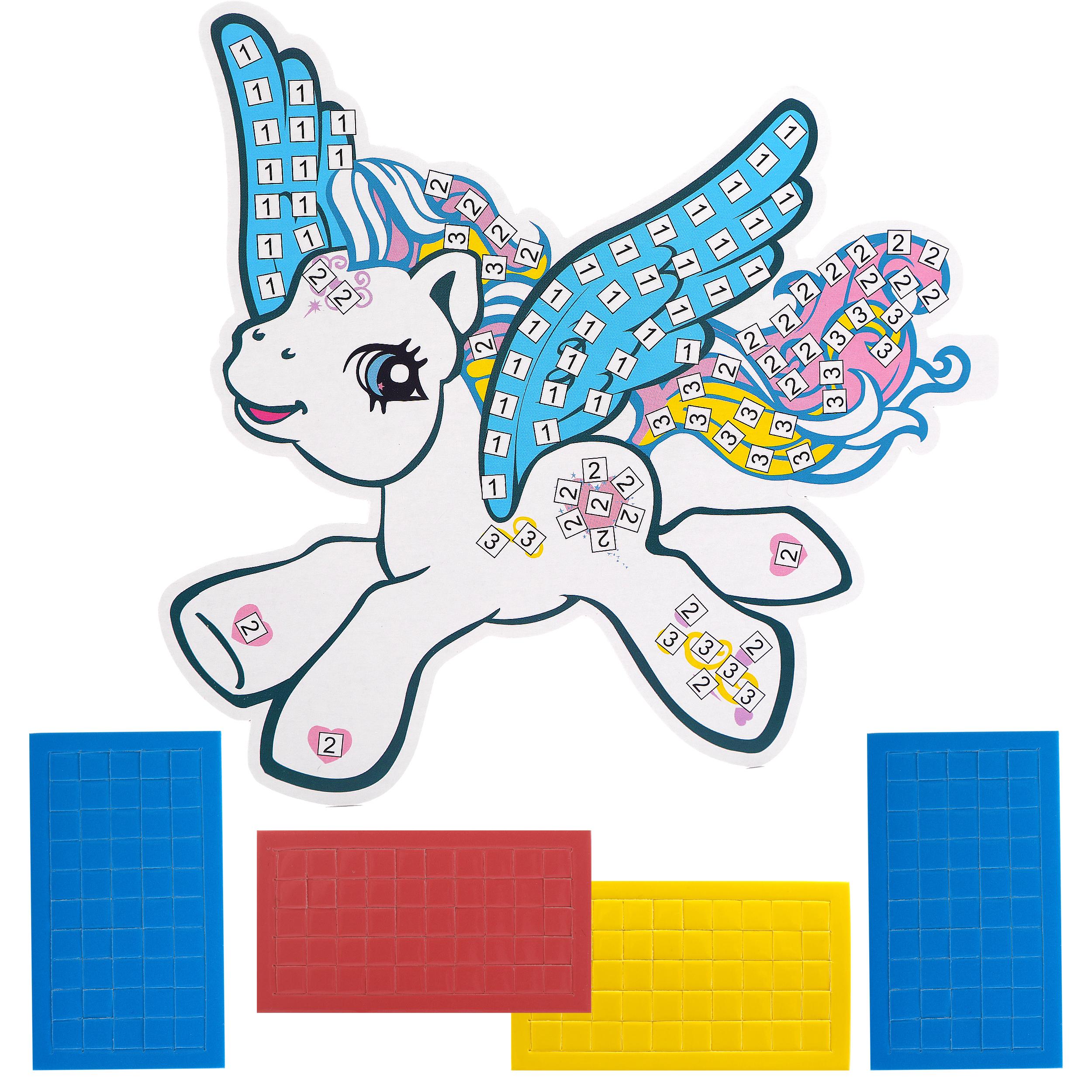 Набор для творчества Color Puppy Аппликация Лошадка цена