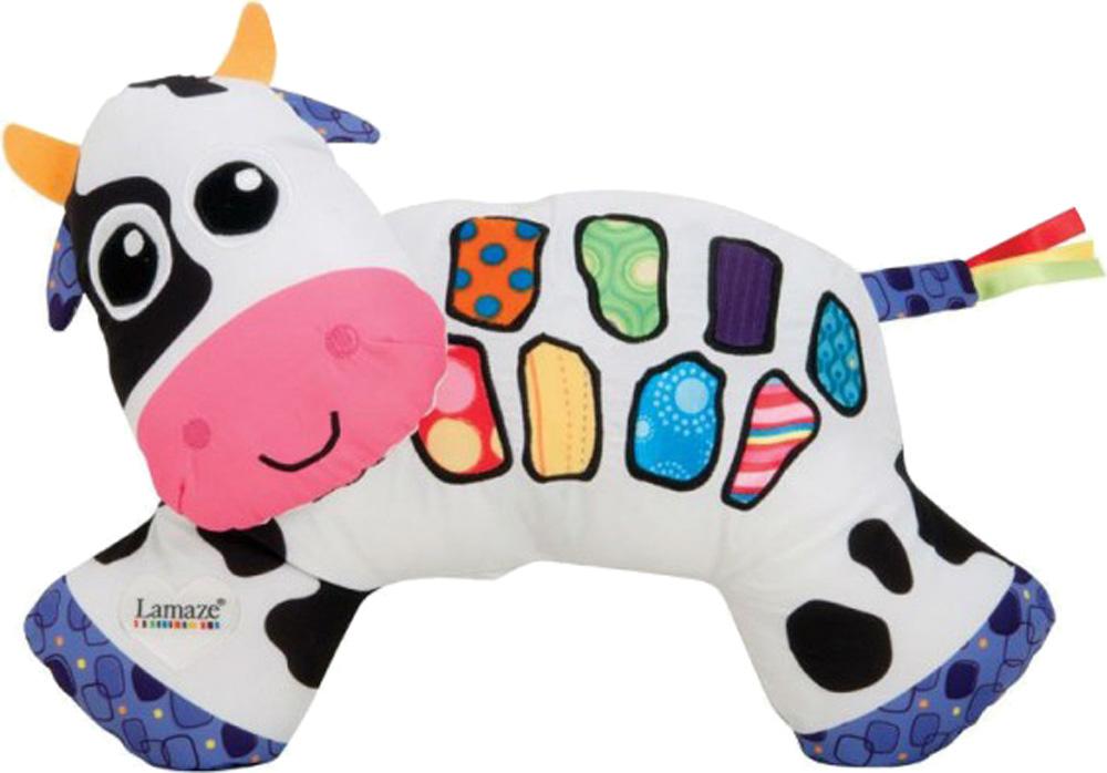 Развивающая игрушка LAMAZE Музыкальная Коровка babyono музыкальная игрушка подвеска коровка