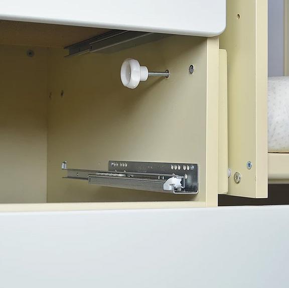 Фото Кроватки СКВ-Компани Кроватка-трансформер СКВ-Компани «СКВ-8» попереч.маятник береза/белый (2 коробки)