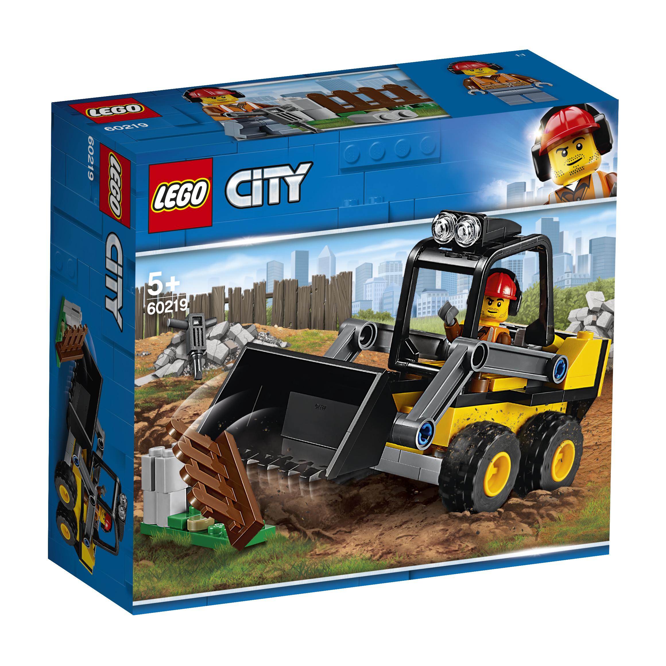LEGO LEGO City Great Vehicles 60219 Строительный погрузчик игрушка drift портальный погрузчик строительный 70397