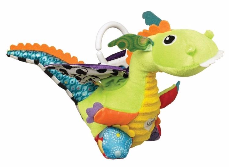 Развивающая игрушка LAMAZE Дракончик Флип Флап lamaze игрушка китенок фрэнки lamaze
