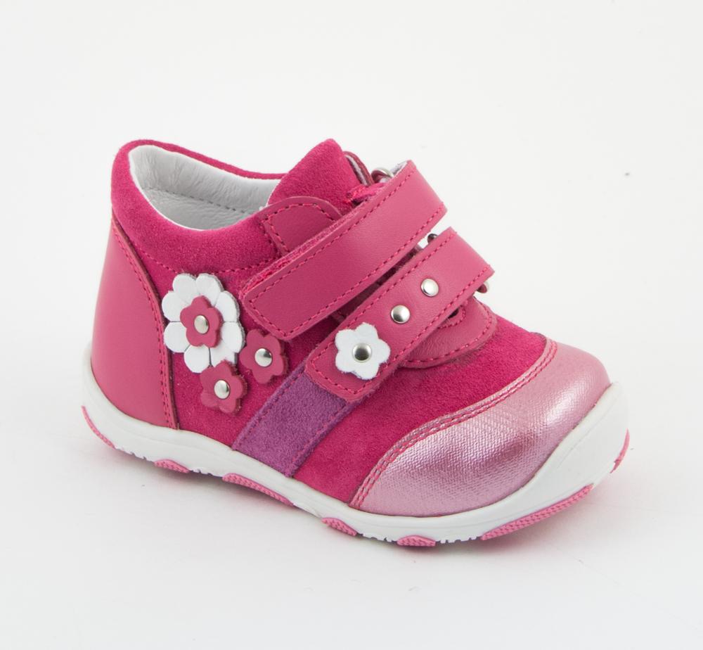 Фото - Ботинки ясельные для девочки Детский Скороход розовый босоножки детский скороход туфли ясельные для мальчика детский скороход синие