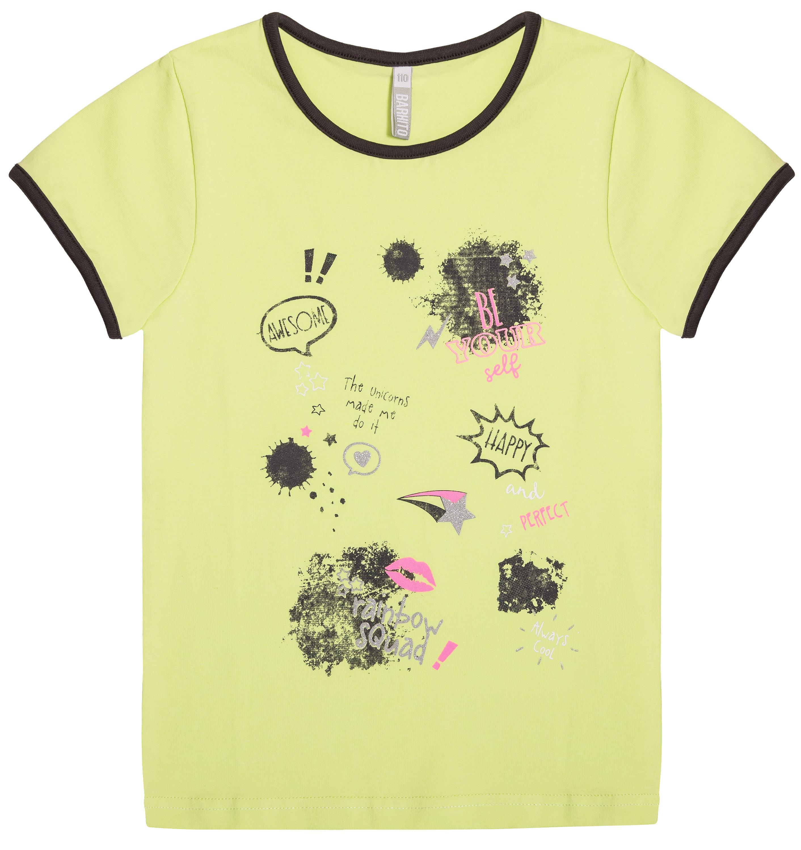 Футболка Barkito с коротким рукавом для девочки футболка barkito с коротким рукавом для девочки
