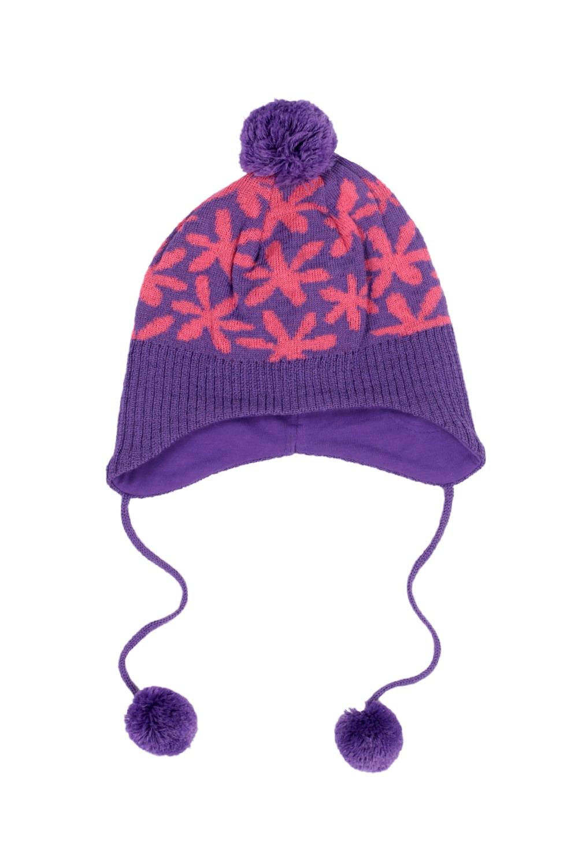 Головные уборы Barkito Шапка для девочки Barkito фиолетовый головные уборы barkito шапка ушанка с завязками для девочки barkito светло розовая