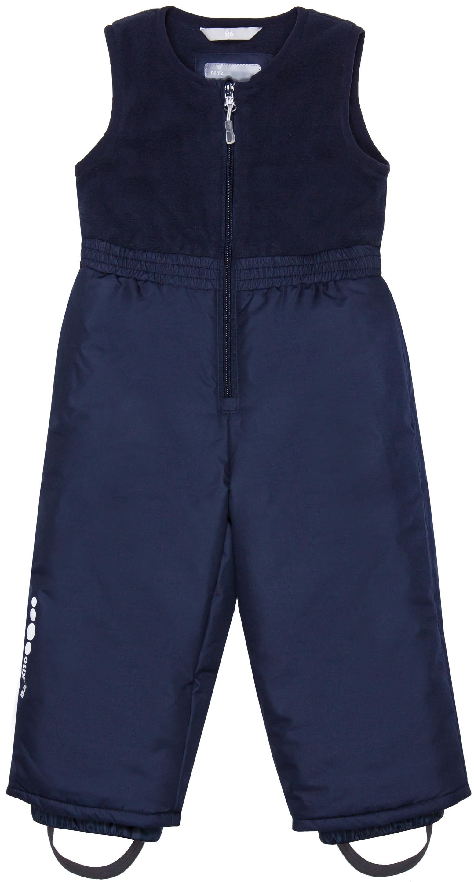 Полукомбинезон Barkito Для мальчика синий полукомбинезон джинсовый для мальчика barkito деним