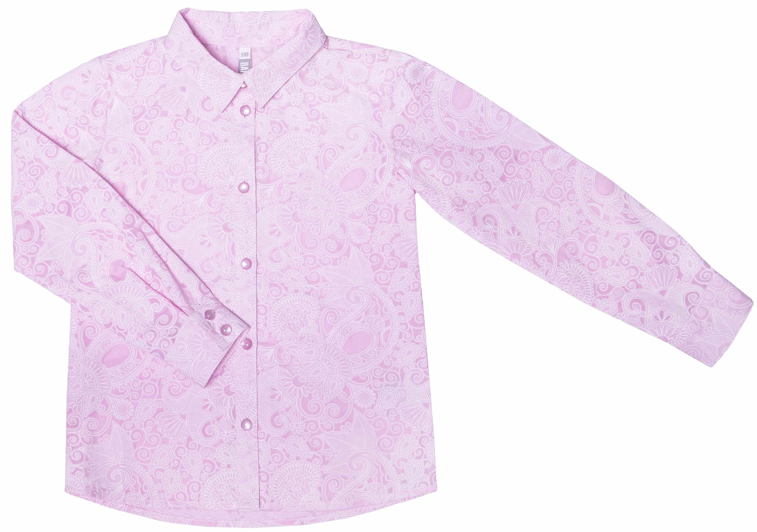 Блузка Barkito Осень розовая