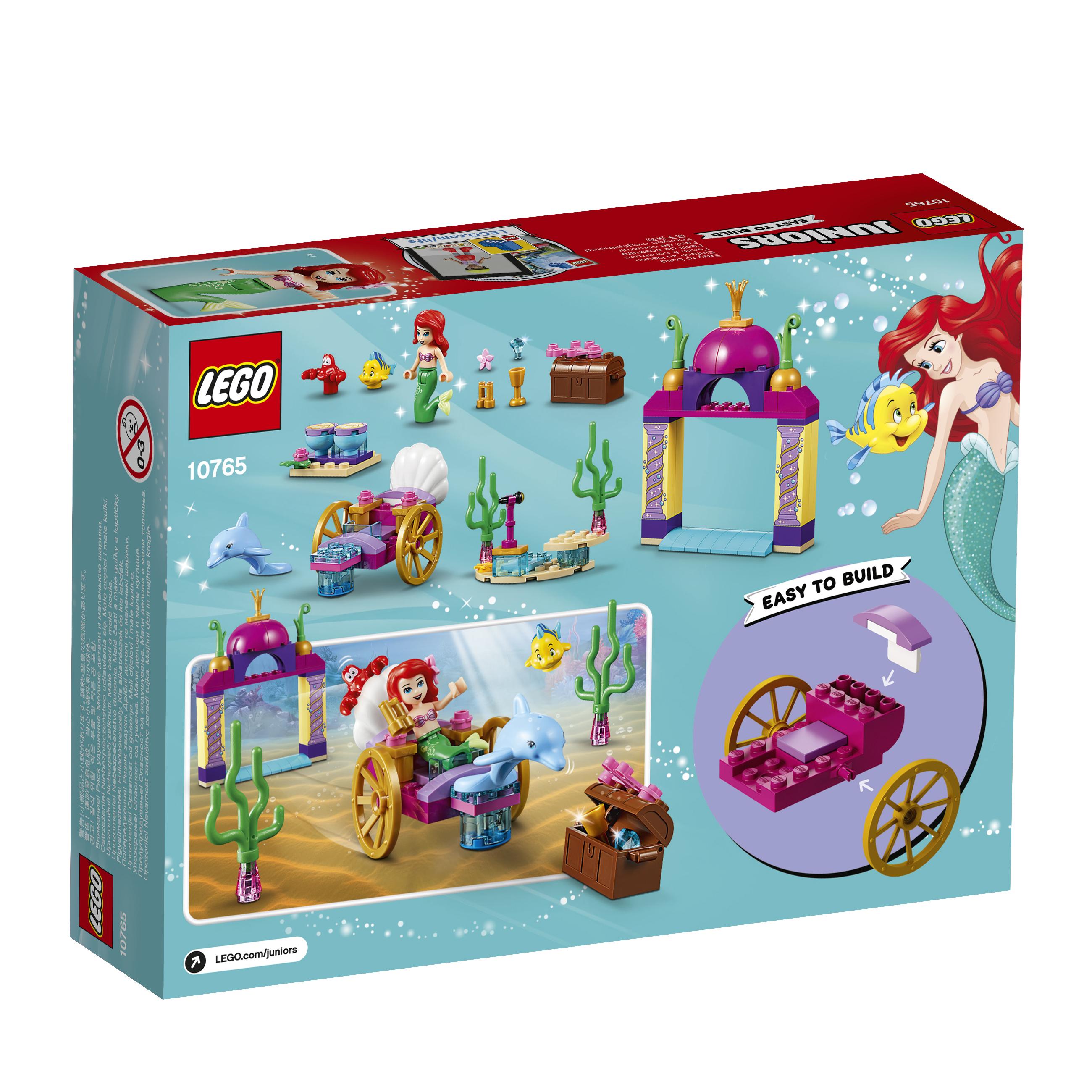 LEGO LEGO Конструктор LEGO Juniors 10765 Подводный концерт Ариэль lego 31035
