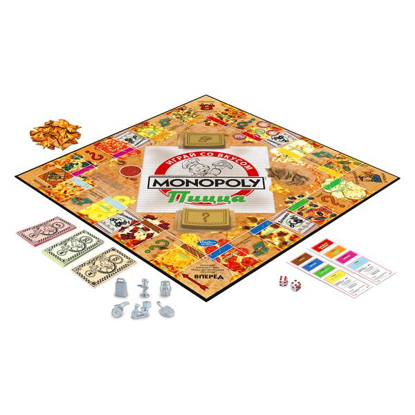 Фото - Настольная игра Hasbro Монополия. Пицца E5798121 hasbro monopoly e5798 игра настольная монополия пицца