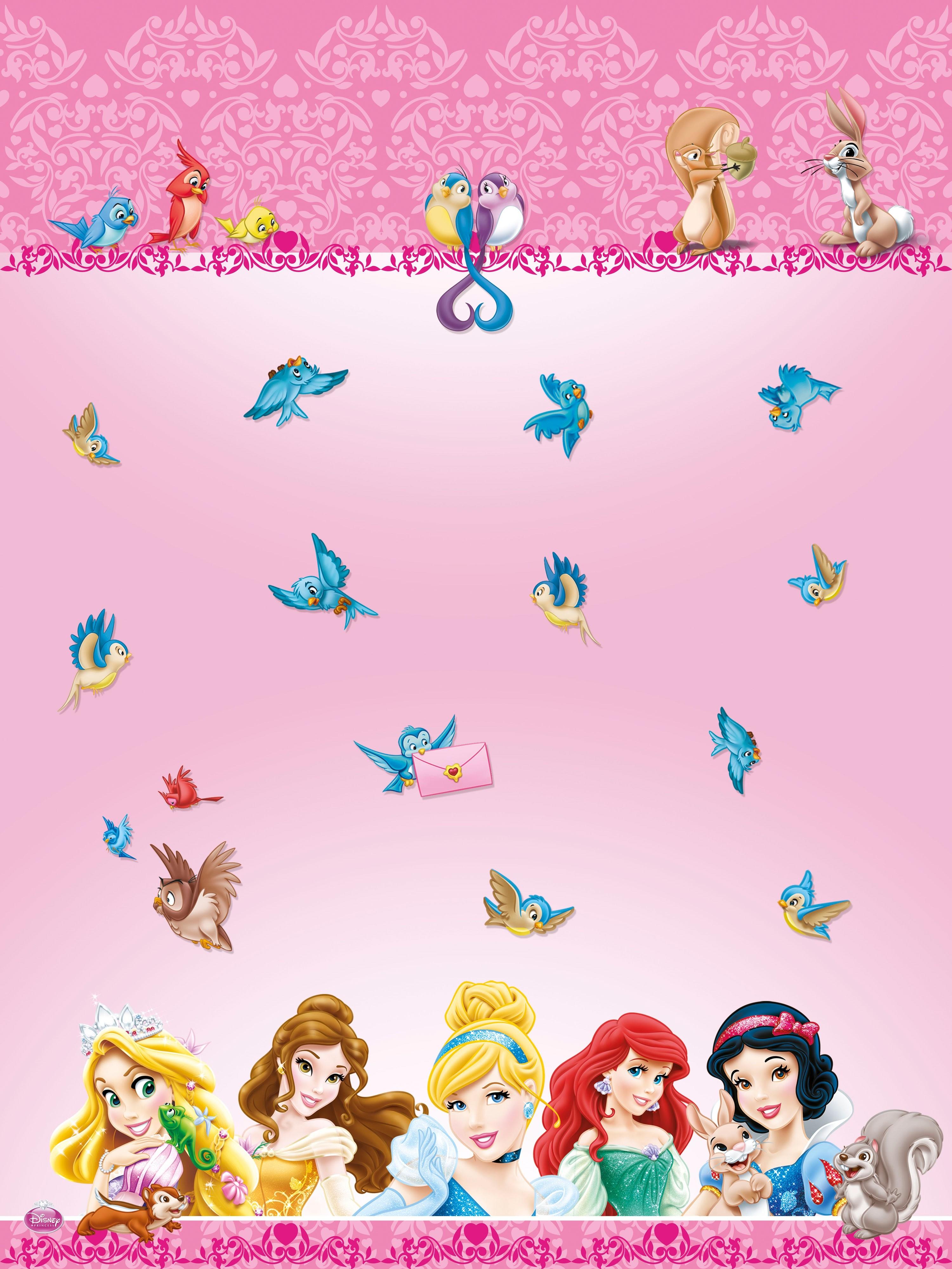 Скатерть Procos Принцессы Диснея и животные посуда и скатерти procos принцессы и животные