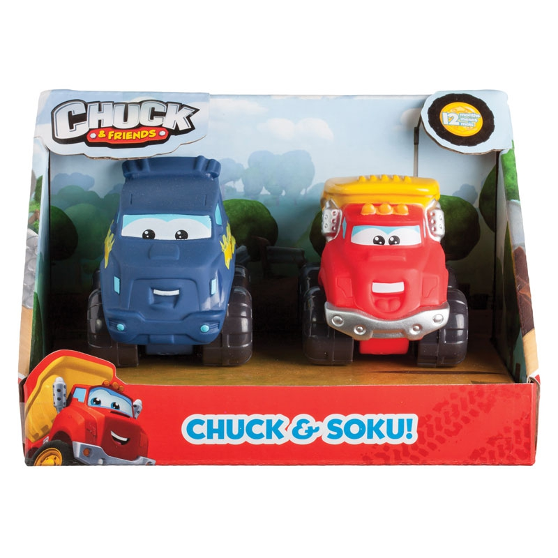 Фото - Грузовики и самосвалы Chuck&Friends Chuck&Friends 5 см боди детский luvable friends 60325 f бирюзовый р 55 61