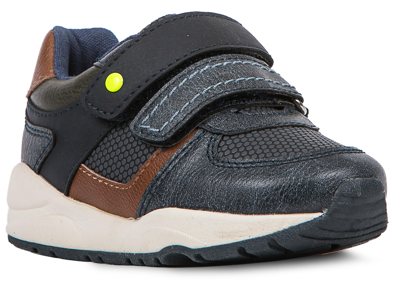 Кроссовки и кеды Barkito Полуботинки типа кроссовых для мальчика Barkito, синие пантолеты типа сабо для кратковременной носки для мальчика barkito синие