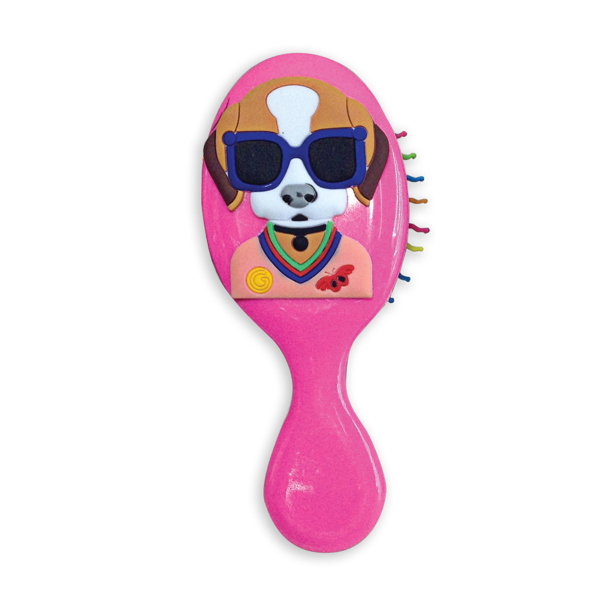Расческа-щетка Baffy Собачка курносики набор щетка и расческа для волос цвет салатовый