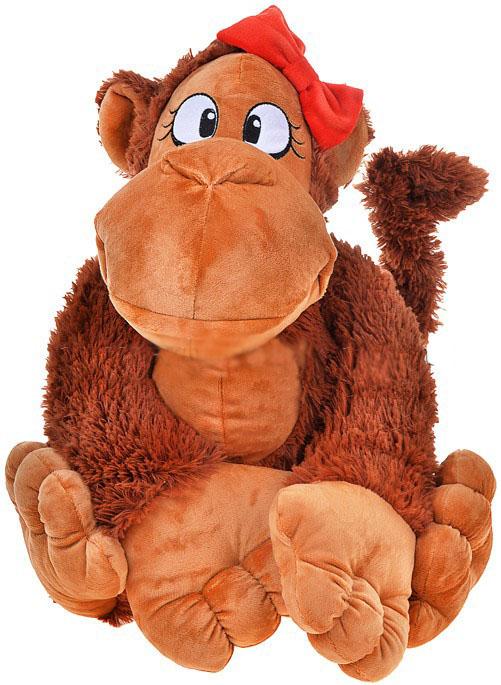 Мягкие игрушки СмолТойс Обезьянка Янка 42 см мягкие игрушки hansa обезьянка сидящая палевая 20 см