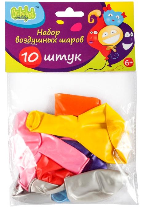 Набор воздушных шаров Bebelot Holiday набор воздушных шаров bebelot цветы 10шт bho1705 031