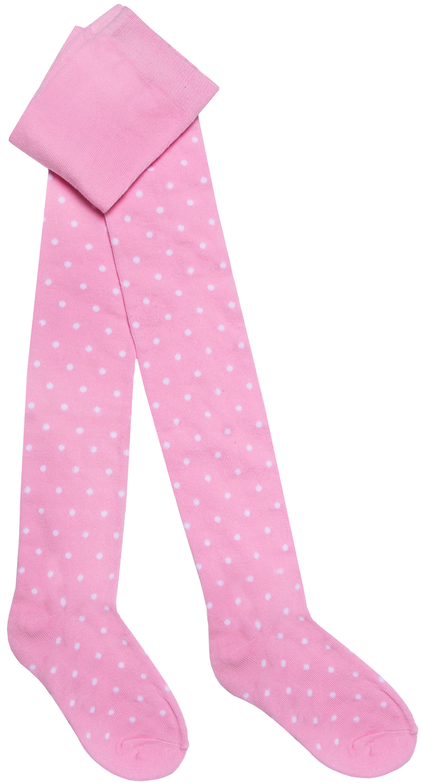 Колготки Barkito Колготки для девочки Barkito, розовые с рисунком в горошек брюки дудочки 7 8 с жаккардовым рисунком в горошек