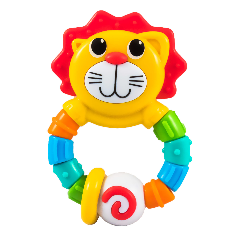 Погремушки Infantino Развивающая игрушка Infantino «Львенок» прорезыватели infantino слоненок