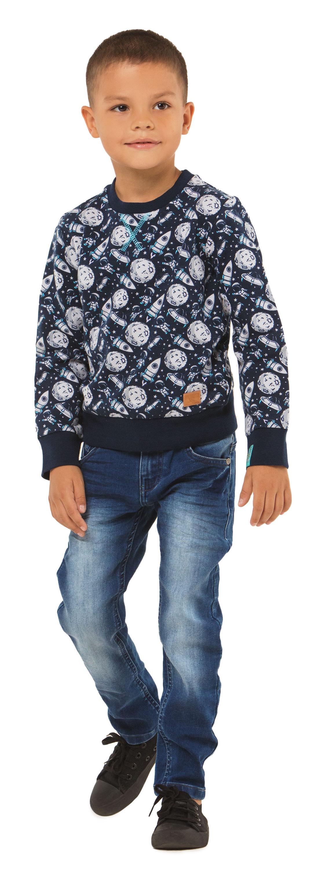 Джемпер Barkito Путешествие в космос 1 полукомбинезон джинсовый для мальчика barkito деним
