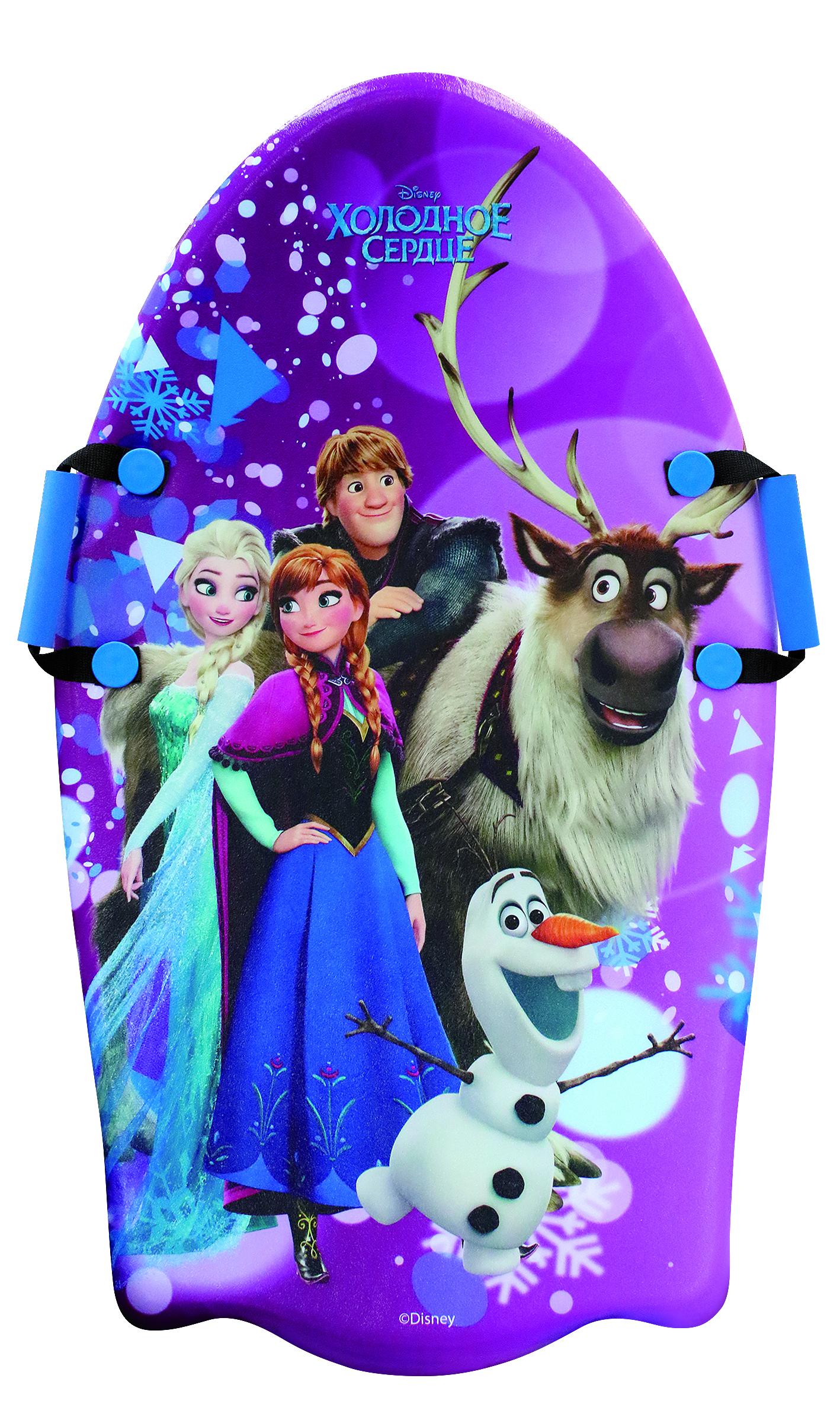 Ледянки Disney Ледянка Disney «Холодное сердце» с плотными ручками 92 см 1toy ледянка холодное сердце 92 см