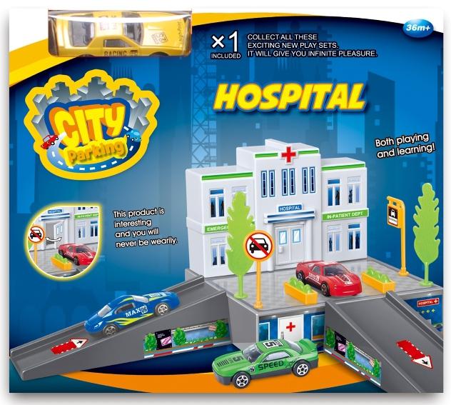 Игровой набор Dave Toy Dave Toy dave toy полицейский участок 32024